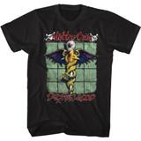 Motley Crue Feelgood Black Adult T-Shirt