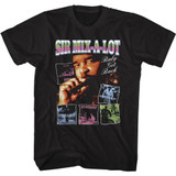 Sir Mix-a-Lot Albums Black Adult T-Shirt