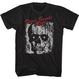 Stone Temple Pilots Skull Sunglasses Black Adult T-Shirt