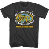 Styx Grand Illusion Tour Smoke Adult T-Shirt