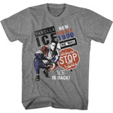 Vanilla Ice Collab and Listen Graphite Heather Adult T-Shirt