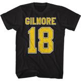 Happy Gilmore Gilmore Jersey Black T-Shirt