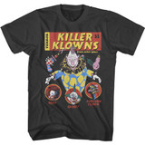 Killer Klowns From Outer Space Comic Cover Smoke T-Shirt