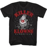 Killer Klowns Klownzilla Classic Black T-Shirt