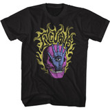 Incubus Skull Hand Black T-Shirt