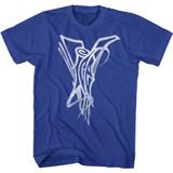 Vanilla Ice Logo Royal T-Shirt