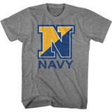 Navy Navy N Graphite Heather T-Shirt