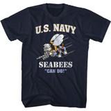 Navy Seabees Navy T-Shirt