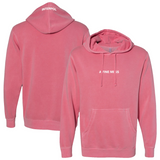 Interpol A Fine Mess Pink Pullover Hoodie Sweatshirt