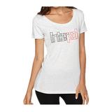 Interpol Outline Scoop Neck Women's T-Shirt