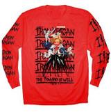 Iron Reagan Hillary Long Sleeve T-Shirt