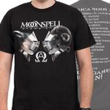 Moonspell America Noir Tour 2014 Tour T-Shirt