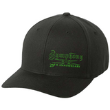 Symphony X 25th Anniversary Green Logo Flex Fit Hat