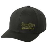 Symphony X 25th Anniversary Yellow Logo Flex Fit Hat