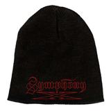 """Symphony X Red Logo 9"""" Beanie Hat"""