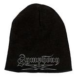 """Symphony X White Logo 9"""" Beanie Hat"""
