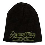 """Symphony X Yellow Logo 9"""" Beanie Hat"""