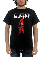 Bad Religion Suffer Men's Black T-Shirt