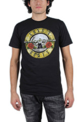 Guns N Roses Distressed Bullet T-Shirt
