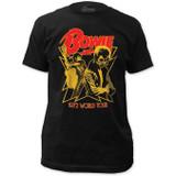 David Bowie 1972 World Tour T-Shirt