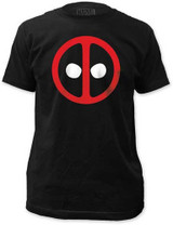 Deadpool Logo Fitted Jersey T-Shirt