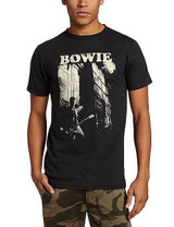 David Bowie Guitar Fitted T-Shirt