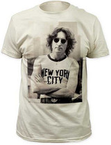 John Lennon The Beatles NYC Fitted T-Shirt