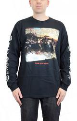Bathory Blood Fire Death Long Sleeve T-Shirt
