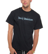 Jane's Addiction Old English Logo T-Shirt