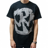 Pennywise Large Grey Logo Slim Fit T-Shirt