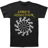 Jane's Addiction Lady Wheel Slim T-Shirt