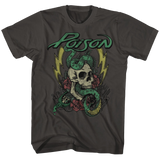 Poison Colored Tattoo Smoke Adult T-Shirt