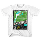 Ace Ventura Ray Finkle Football White Children's T-Shirt