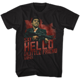 Scarface Say Hello Black T-Shirt