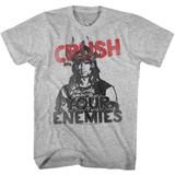 Conan The Barbarian Crush Your Enemies Gray Heather Adult T-Shirt
