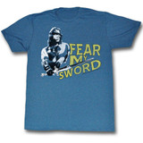 Conan The Barbarian Mine Is Better Blue Heather Adult T-Shirt