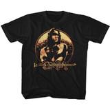 Conan The Barbarian Shield Black Youth T-Shirt