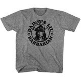 Conan The Barbarian Daddy's Barbarian Graphite Heather Youth T-Shirt