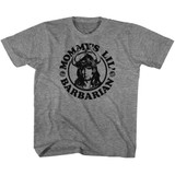 Conan The Barbarian Mommy's Barbarian Graphite Heather Youth T-Shirt