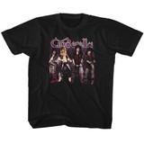Cinderella Band Stands Black Children's T-Shirt