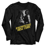 Escape From New York Black Adult Long Sleeve T-Shirt