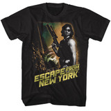 Escape From New York Black Adult T-Shirt