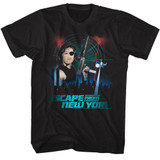 Escape From New York City Black Adult T-Shirt