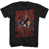 Escape From New York Snake Plissken Black Adult T-Shirt