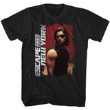 Escape From New York Kurt Russel Black Adult T-Shirt