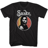 Escape From New York Circle Snake Black Adult T-Shirt