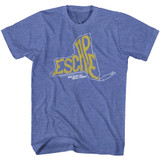Escape From New York Royal Heather Adult T-Shirt