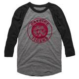 Saved by the Bell Bayside Tigers Gray Heather/Dark Heather Long Sleeve Raglan T-Shirt