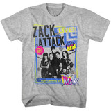 Saved by the Bell Zack Band Gray Heather T-Shirt