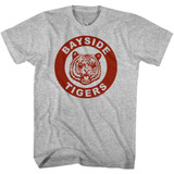 Saved by the Bell Bayside Redux Gray Heather T-Shirt